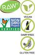 Garden of Life Vitamin Code Raw Kombucha Certifications