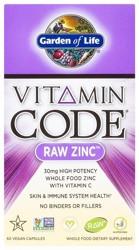 Vitamin Code Raw Zinc 60 Capsules