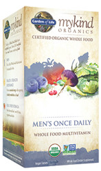 MyKind Organics Mens Once Daily 60 Tablets