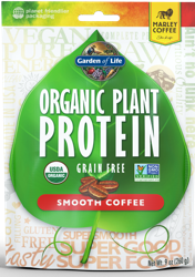 Organic Plant Protein Smooth Coffee 260 gram