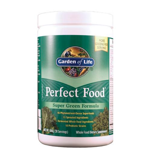 garden of life perfect food super green 300 grams powder