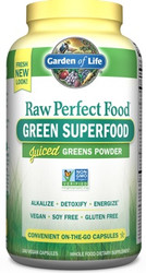 Perfect Food Raw 240 Capsules