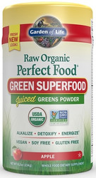 Perfect Food Raw Organic Apple 224 grams powder
