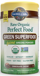 Perfect Food Raw Organic Chocolate Cacao 338 grams powder