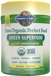 Perfect Food Raw -No Stevia - 419 grams powder