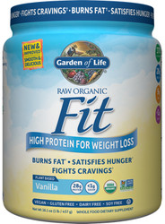 Garden of Life Raw Fit  Vanilla Facts