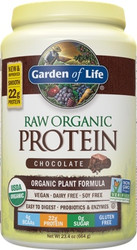 Raw Organic Protein Chocolate Cacao 664 grams powder
