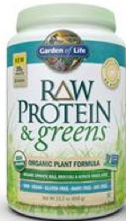 Raw Protein and Greens Lightly Sweet 651 Grams Powder