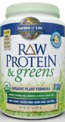 Raw Protein and Greens Vanilla 548 Grams Powder