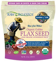 Raw Organics 12 ounce Organic Flaxseed and Antioxidant Fruit