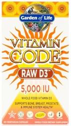 Vitamin Code RAW D3 5000 IU 60 Capsules