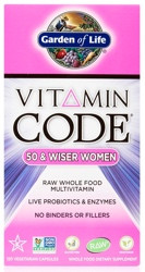 Vitamin Code Womens 50 and Wiser 120 Capsules