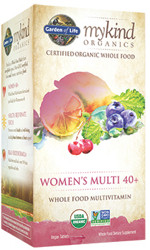 MyKind Organics Womens 40 Plus Multi 60 Tablets