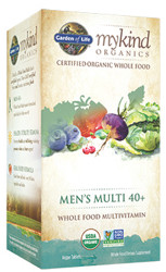 MyKind Organics Mens 40 Plus Multi 120 Tablets