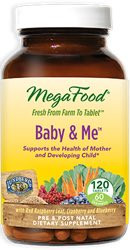 Baby and Me 120 Tablets, 4 Daily