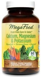 Calcium, Magnesium and Potassium 90 Tablets