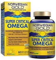 Norwegian Gold Super Critical Omega 60  Softgels