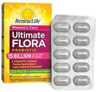 Ultimate Flora Women's Care Probiotic Go Pack
