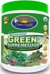 Divine Health Fermented Green Supremefood 30 Days Powder (Sweet)