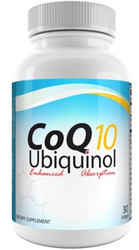 Divine Health Living CoQ10 Ubiquinol 100 mg 30 Softgels