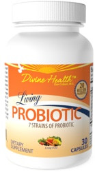 Divine Health Living Probiotic 30 Capsules