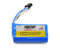 7.4V 1500mAh 2S LiIon: PRB React 17