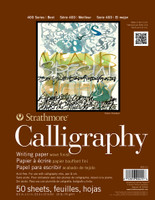 "Strathmore - Calligraphy - 400 Series - 8.5""x11"" - 50 Sheets - 20LB"