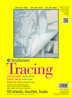 "Strathmore - Tracing Transparent Parchment Tape Pad - 300 Series - 11""x14"" - 50 Sheets - 25LB"
