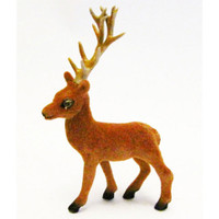 Brown Standing Deer - 3 inches - 1 piece