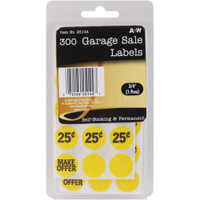 Garage Sale Labels