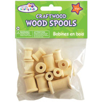 Craftwood Spools Assorted 13/Pkg