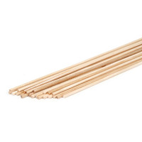 Dowel Rod - Wood - 1/8 x 12 inches - 22 pieces