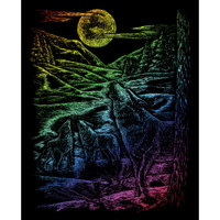 Howling Wolves – Engrave Art