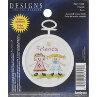 Friends Mini Counted Cross Stitch Kit