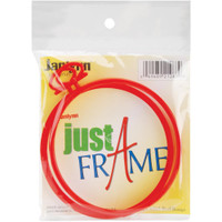 "Just-A-Frame Round 3.75"" 2/Pkg – Red"