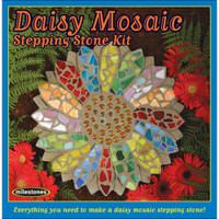 Daisy -– Mosaic Stepping Stone Kit