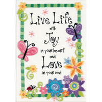 Dimensions – Live Life Crewel Embroidery