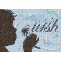Dimensions - Wish Mini Counted Cross Stitch