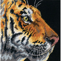 Dimensions - Tiger Profile Mini Needlepoint
