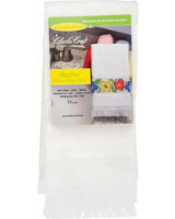Maxton Velour - 14 Count White Guest Towel