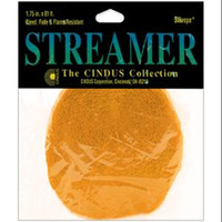 """Crepe Streamers 1.75""""X81' – Canary Yellow"""