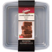 Recipe Right Covered Brownie Pan
