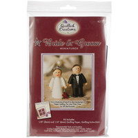 Bride & Groom Miniature Quilling Kit
