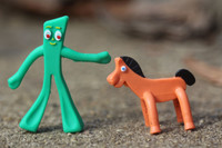 World's Smallest Gumby & Pokey