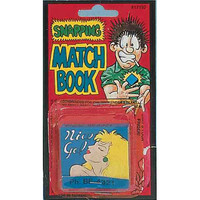 Snapping Match Book
