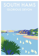 BB78451 - South Hams, Glorious Devon (6 blank cards)