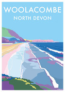 BB78546 - Woolacombe, North Devon (6 blank cards)