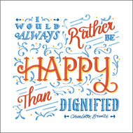 ES83685 - Happy than dignified... (6 blank cards)