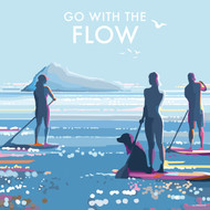 BB78779- Go with the flow (6 blank cards)
