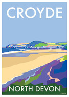 BB78863 - Croyde, North Devon (6 blank cards)